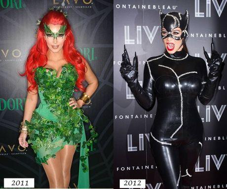 Heidi Klum & Kim Kardashian: Dep, doc, la mua Halloween - Anh 10