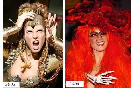 Heidi Klum & Kim Kardashian: Dep, doc, la mua Halloween - Anh 3