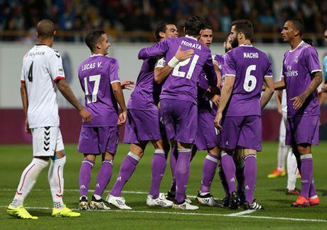Nacho ghi ban tuyet dep, Real Madrid de bep doi hang duoi 7-1 - Anh 1