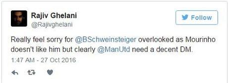 Schweinsteiger khien fan Man United phat khoc voi dong tweet nay - Anh 4