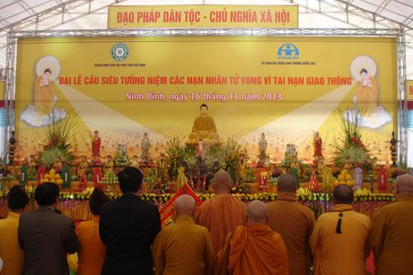 Khoang 10.000 nguoi tham gia Dai le cau sieu nan nhan TNGT - Anh 1