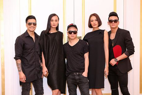 Thien Nguyen - Truong Ngoc Anh 'tinh cam' tai tiec sinh nhat - Anh 6