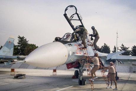 Quan chuc My: May bay Nga-My suyt cham tran nhau tren bau troi Syria - Anh 1