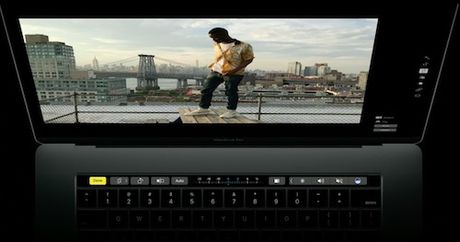 Apple trinh lang tuyet pham Macbook Pro moi voi Touch Bar - Anh 8