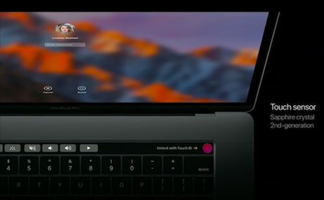 Apple trinh lang tuyet pham Macbook Pro moi voi Touch Bar - Anh 9