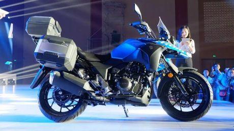 Suzuki V-Strom DL250 Concept 2017 'nha hang' tai Trung Quoc - Anh 1