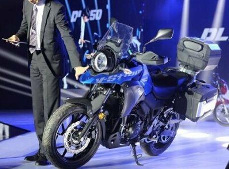 Suzuki V-Strom DL250 Concept 2017 'nha hang' tai Trung Quoc - Anh 3