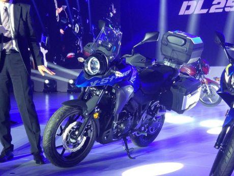 Suzuki V-Strom DL250 Concept 2017 'nha hang' tai Trung Quoc - Anh 4