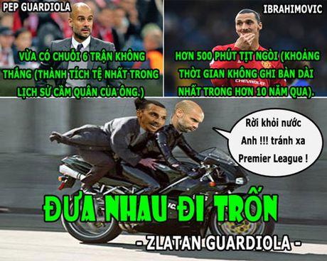 HAU TRUONG (28.10): Guardiola dua Ibra di tron, Rashford tim thay anh trai 'lac' - Anh 1