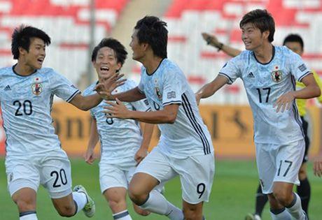U19 Viet Nam 0-3 U19 Nhat Ban: Bai hoc tu tinh huong co dinh - Anh 1