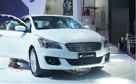 Suzuki Ciaz gia 580 trieu tai Viet Nam - Anh 3