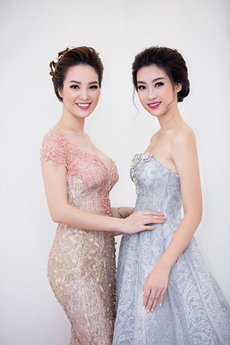 Hoa hau My Linh khoe nhan sac khong kem canh Ngoc Han, Thuy Van - Anh 8