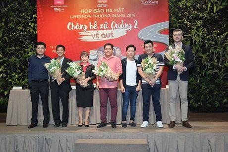 Truong Giang he lo san khau hoanh trang nhat trong su nghiep dien xuat tai Da Nang, Phu Yen - Anh 1