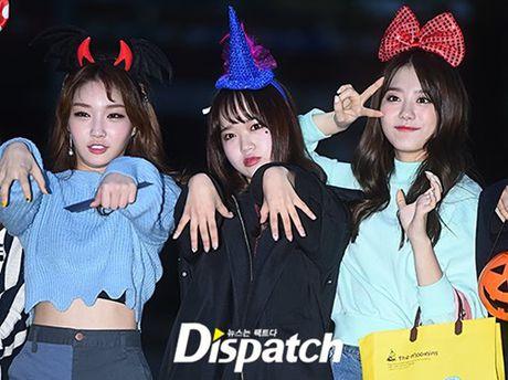 I.O.I don Halloween som, Twice lang xe dieu nhay moi o Music Bank - Anh 1
