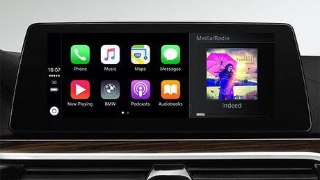 Moi mau xe BMW se ket noi Apple CarPlay khong day - Anh 1