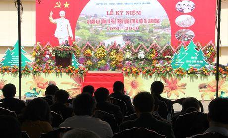 40 nam vung kinh te moi Ha Noi tai Lam Dong - Anh 1
