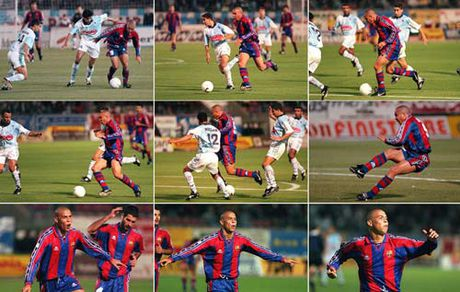"""Sieu pham so 1 Barca: Ro """"beo"""" dau Ronaldinho, Messi - Anh 2"""
