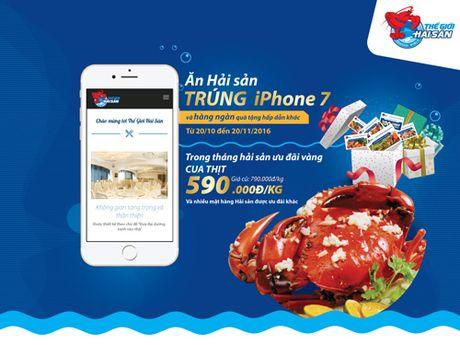 An hai san, trung iPhone 7 - Anh 3