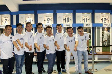 Chuyen di de doi cua FC Thanh Dong o Real Madrid - Anh 1