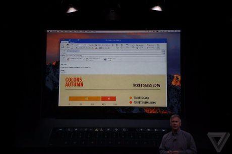 Apple 'trinh lang' san pham Macbook Pro voi nhieu tinh nang vuot troi - Anh 62