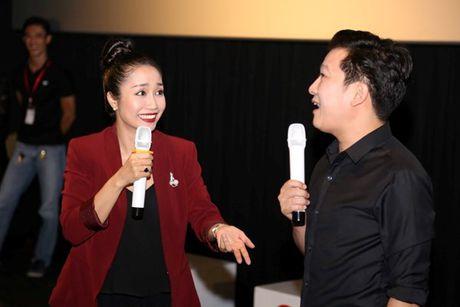 Toc Tien mang Truong Giang khi bi 'nhay vo mieng' luc dang noi - Anh 6