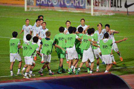 U19 Viet Nam vs U19 Nhat Ban (0-3): Luc bat tong tam - Anh 1
