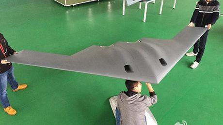 Trung Quoc che tao UAV giong oanh tac co My de tap ban ten lua - Anh 1