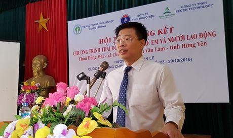 Tong ket Chuong trinh thai doc chi cho tre em va nguoi lao dong - Anh 2