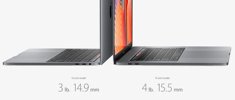 Apple MacBook moi: mong hon, nhe hon, Touch ID va Touch Bar - Anh 1