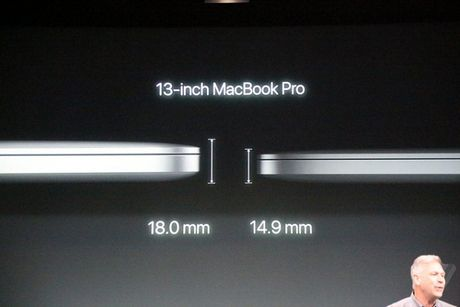 Apple MacBook moi: mong hon, nhe hon, Touch ID va Touch Bar - Anh 2