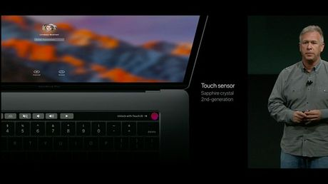 Apple MacBook moi: mong hon, nhe hon, Touch ID va Touch Bar - Anh 3