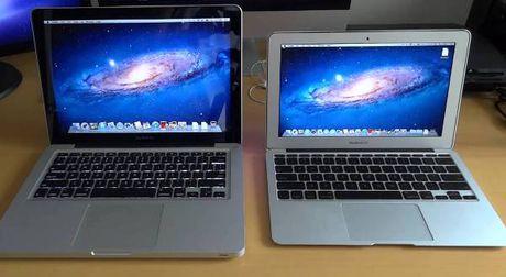 MacBook Air 11 inch, MacBook Pro cu bi Apple khai tu - Anh 1