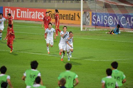 Thua U19 Nhat Ban, U19 Viet Nam xep thu 3 chau A - Anh 1
