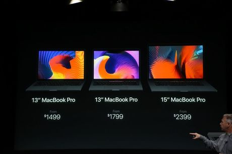 MacBook Pro moi ra mat: man hinh phu Touch Bar, Touch ID, USB C - Anh 14