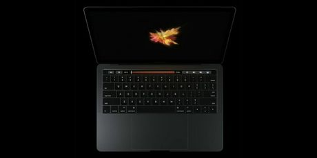 MacBook Pro moi ra mat: man hinh phu Touch Bar, Touch ID, USB C - Anh 1