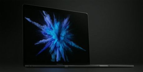 MacBook Pro moi ra mat: man hinh phu Touch Bar, Touch ID, USB C - Anh 2