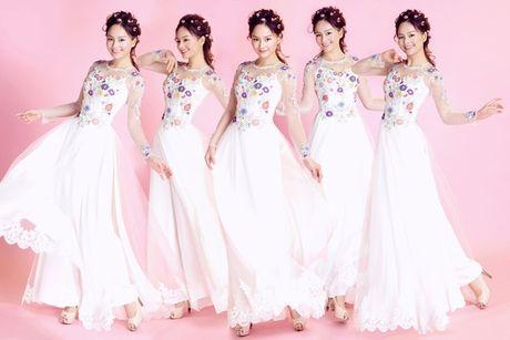 Lan Phuong goi y ao dai cach dieu cho co dau - Anh 1