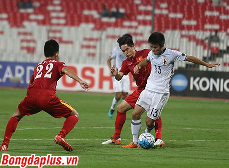 U19 Viet Nam dung buoc truoc nguong cua chung ket U19 chau A - Anh 3