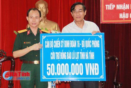 Tiep nhan ung ho cua cac dia phuong, to chuc, doanh nghiep - Anh 3