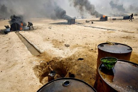 khong quan Nga thieu dau lau IS, diet phien quan Syria - Anh 1