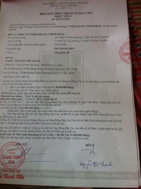 Du an chung cu Phuc Yen: Nhieu sai pham can duoc lam ro - Anh 2