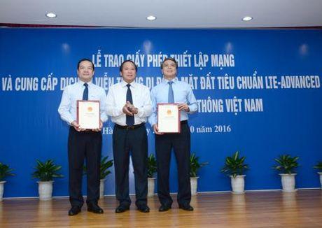 VNPT chinh thuc nhan giay phep trien khai dich vu 4G - Anh 1