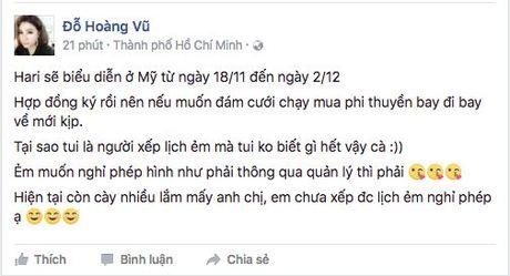 Dat tiec cuoi tai Viet Nam, Hari Won va Tran Thanh sang My de lam gi? - Anh 3