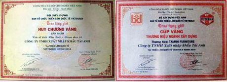 Tu hao cua DN Ha Dang Tai: Thuong hieu go Tai Anh 'Than Tai go cua' - Anh 2