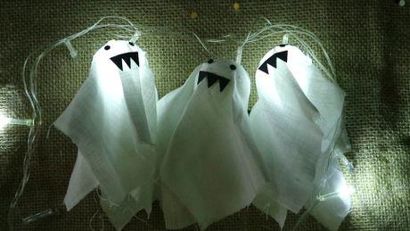 Meo vat: Lam den trang tri Halloween cuc de - Anh 1