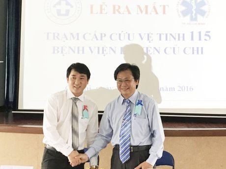 'Phu song' cap cuu tai huyen Cu Chi - Anh 1
