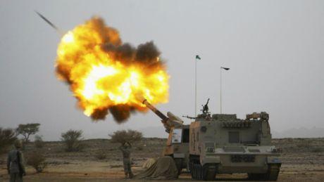 Quan Houthi phong ten lua dan dao ve phia thanh dia Mecca - Anh 1