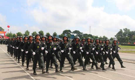 Trung doan CSCD Tay Nam Bo don nhan Huan chuong Bao ve To quoc hang Ba - Anh 3