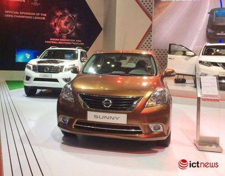 Nissan Teana va Nissan Sunny xuat hien phien ban moi tai Viet Nam - Anh 3
