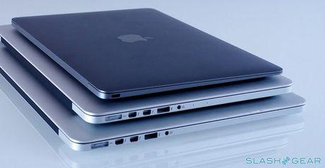 So sanh MacBook Pro moi, MacBook Pro cu va MacBook - Anh 1